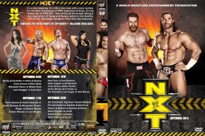 WWE NXT September 2013 DVD Cover by Chirantha