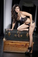 Sunny Leone in Black Bikini by bollywoodesigns