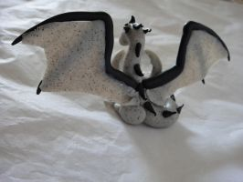 Granite Dragon Back by KatiesCritters