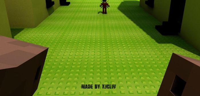 Herobrine POV-ROBLOXian Fighting Against Herobrine by Stuff-incorporated