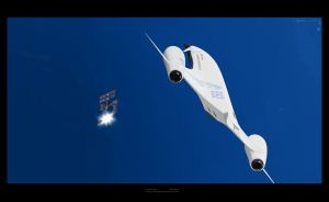 Snowgoose spaceplane 3 by Alex-Brady-TAD