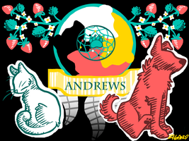 Andrews Coat of Arms by zigan-with-felines