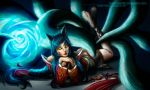 Ahri, the Nine Tailed Fox by GonzaloCumini