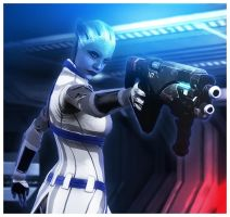 Scraps: Liara Brings the Justice (From Episode 32) by koobismo