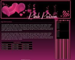 Pink Poison Layout by LorrieWhittington