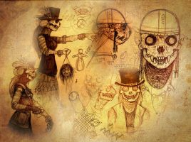 Day of the Dead animal spirit by S-Hirsack