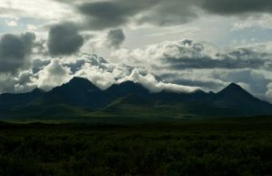 Clearwater Mountains by jamezevanz