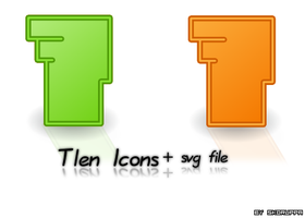 Tlen tango icons by skoruppa