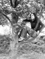 SittingInTheTreee by Aliey