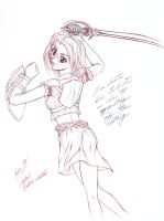 anime practicesketch character by Muffyn-Man