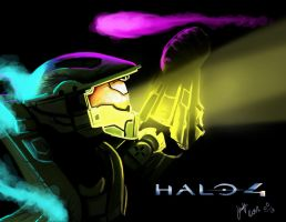Master Chief Halo 4 by PriceJames