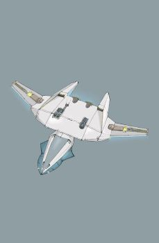 'Project' starfighter by Firepoint
