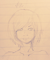 Boring old me sketch by GUTS-and-GLUCOSE