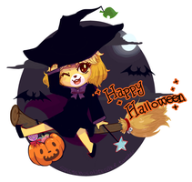 Little Witch Isabelle by Unknowncake