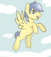 Fly you flying pony! by Balloons504