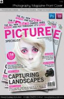 Photography Magazine Front Cover by HollowIchigoBanki