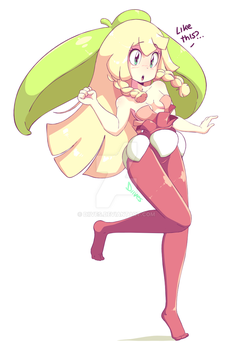 Lillie as Steenee by Diives