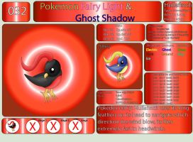 Pokemon Fairy Light and Ghost Shadow ''032'' by AndkeAnka