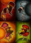 2009 Four Seasons: Hats by cippow25