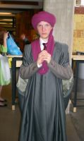 Quirinus Quirrell cosplay from Desucon 2013 by sleepyhamsteri