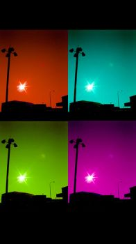 colorful glare by Extra-Virgin