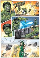 Marvel Heroes  Incredible Hulk by Simon-Williams-Art