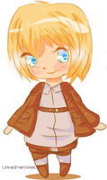 Chibi Armin by Linked-Memories