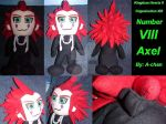 Axel of Organization XIII by A-chan--Creations