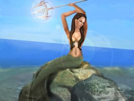Mermaid - SimS art by Andymy
