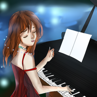 Peaceful Playing (Request) by angelicshine