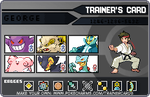 My official competitive team for Pokemon Black by PokeLoverMeso