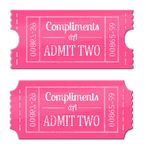 dA Compliments: Tickets by Celvas