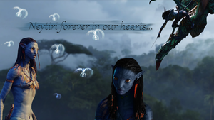 Neytiri Wallpaper by Prowlerfromaf