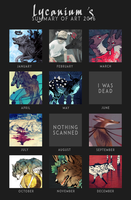 Summary of Art 2016 by Lycanium