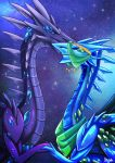 Flight Rising: Orpheus and Ancient by Kisetsukaze