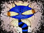 blue cat by Vorona007