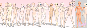 -UPDATED- MMD 15 DIFFERENT NJXA BASES -Read info- by amiamy111