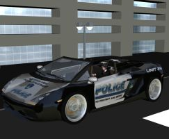 Aiko as a police officer? by Bigjim3D