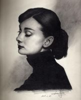 Audrey Hepburn by badboys218