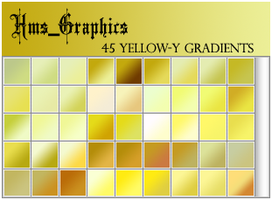 45 Yellow-Green Gradients by graphicdump
