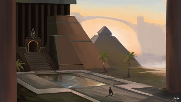 The Opening of Menaphos - Runescape by Gyozal