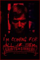 Deucalion, it hurts so good by louriecantdraw