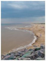 Skegness Beach by Android18a