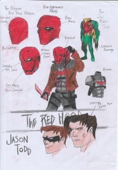 The Red Hood Redesign by Julalesss
