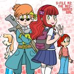 Supercrash! The S-FILES #2: The Red-haired Girl by TheBourgyman