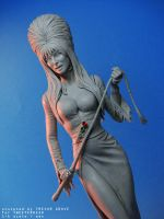 Elvira Statue Detail by TrevorGrove