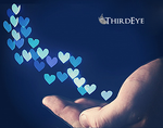Heart in Hand Bokeh by The-ThirdEye