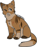 cat adoptable 17 -CLOSED- by Black-pond-adopts
