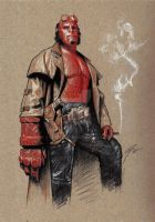 Hellboy by GabeFarber