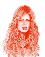 DOUTZEN KROES - Portrait by Bilgekhan